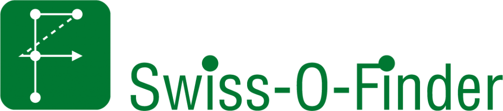 Swiss-O-Finder Logo mit Text